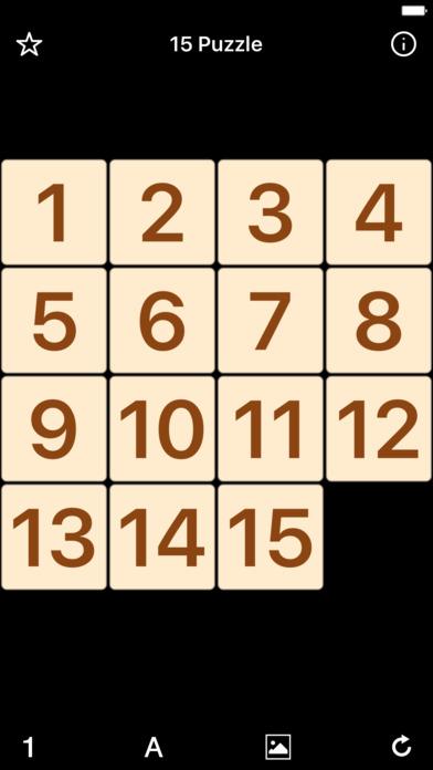 Decimal Numbers (15 Puzzle)